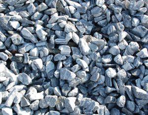 Gabionenfüllung, Gletscher Marmor, gebrochen