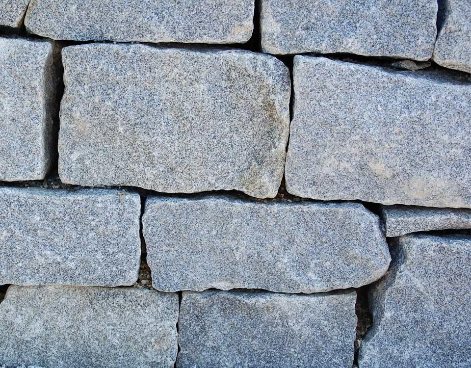 Mauerstein, Granit, unsortiert