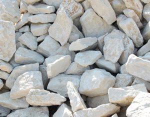 Mauersteine, Kalkstein, unsortiert