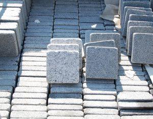 Ciottoli, Granit, hellgrau/dunkelgrau