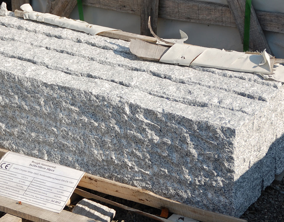 Palisaden, Granit