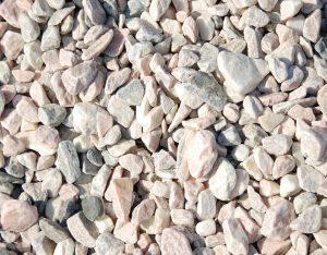 Zierkies, Sölker Marmor, getrommelt