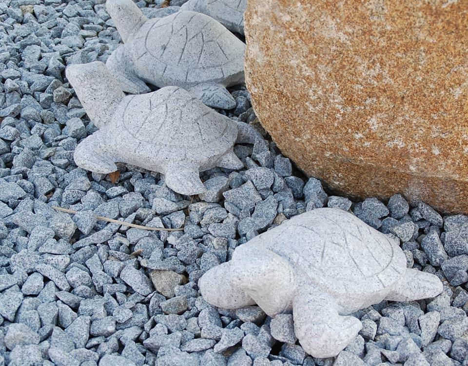Schildkröten, Granit