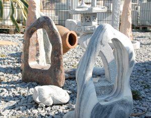 Quellsteine, Wasserspiele, Marmor