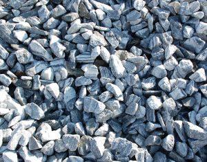 Zierkies, Gletscher Marmor, gebrochen