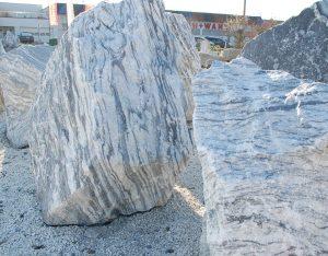 Findlinge, Gletscher Marmor