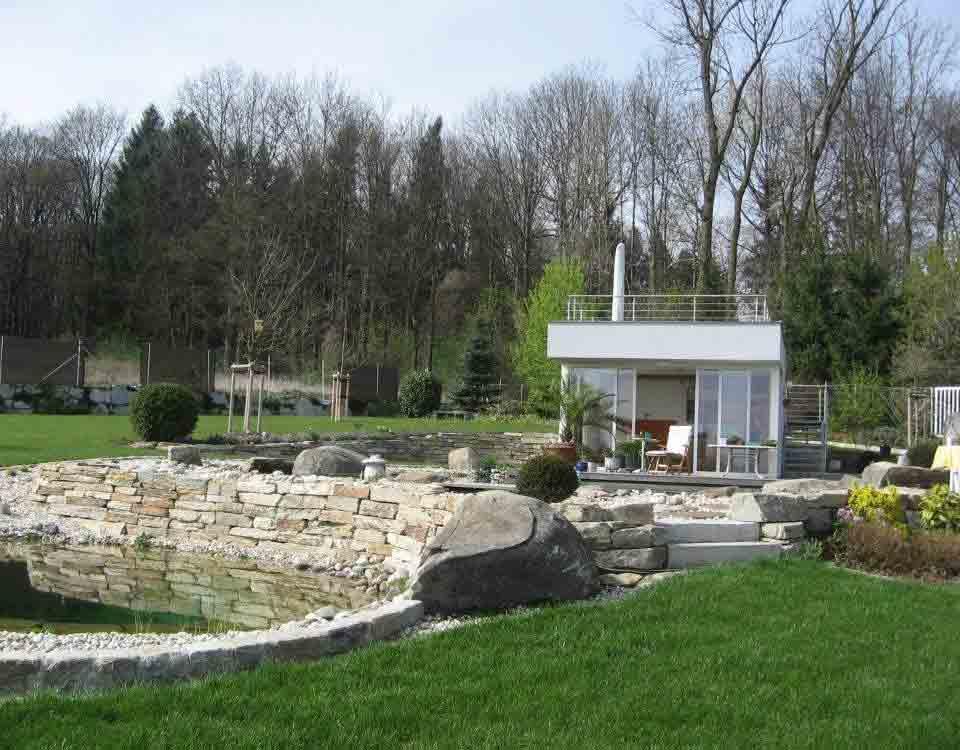 Mauerstein, Beola Gneis / Blockstufe, Granit