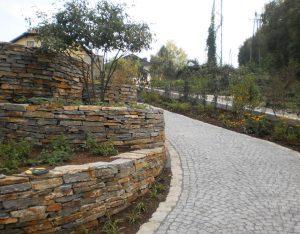 Mauerstein, Stainzer Hartgneis / Pflasterstein, Granit