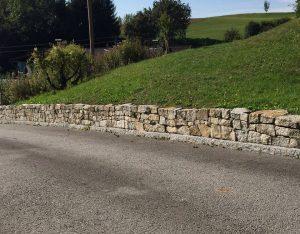 Mauersteine und Leistensteine