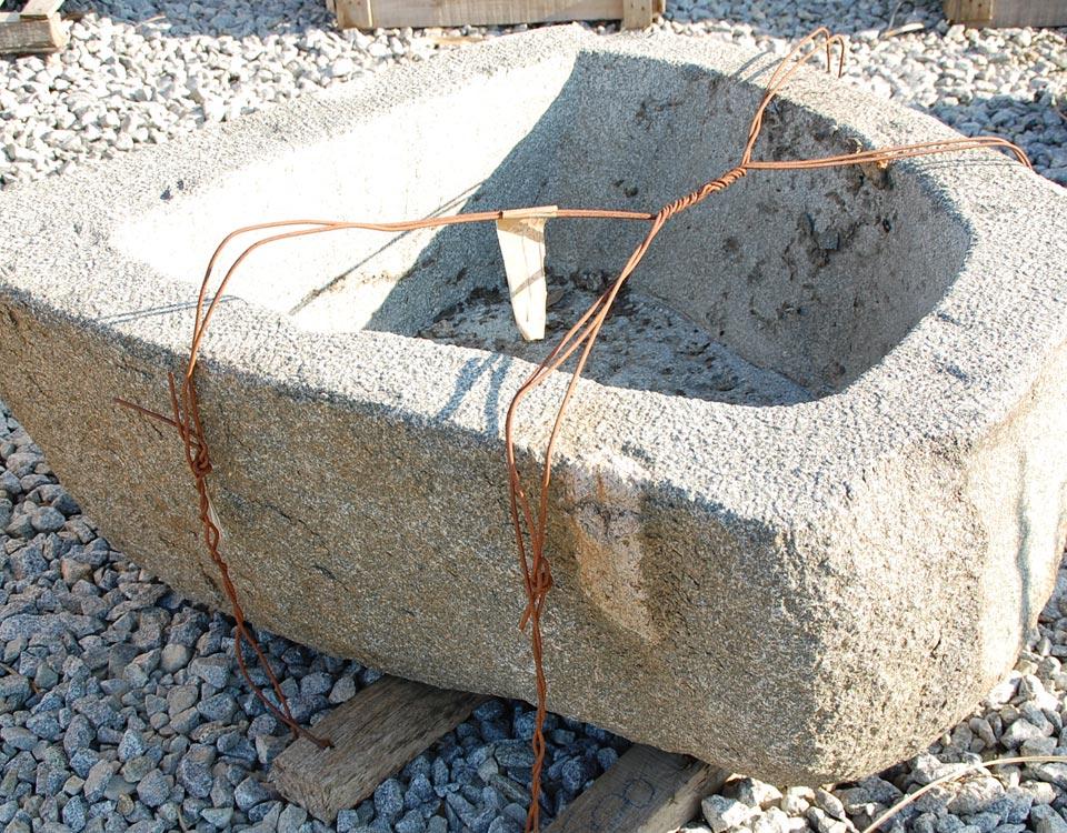 Trog, Granit