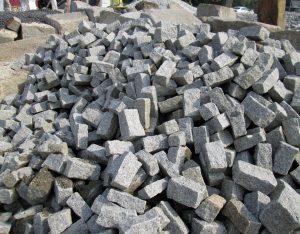 Bindersteine, Granit, Randeinfassung