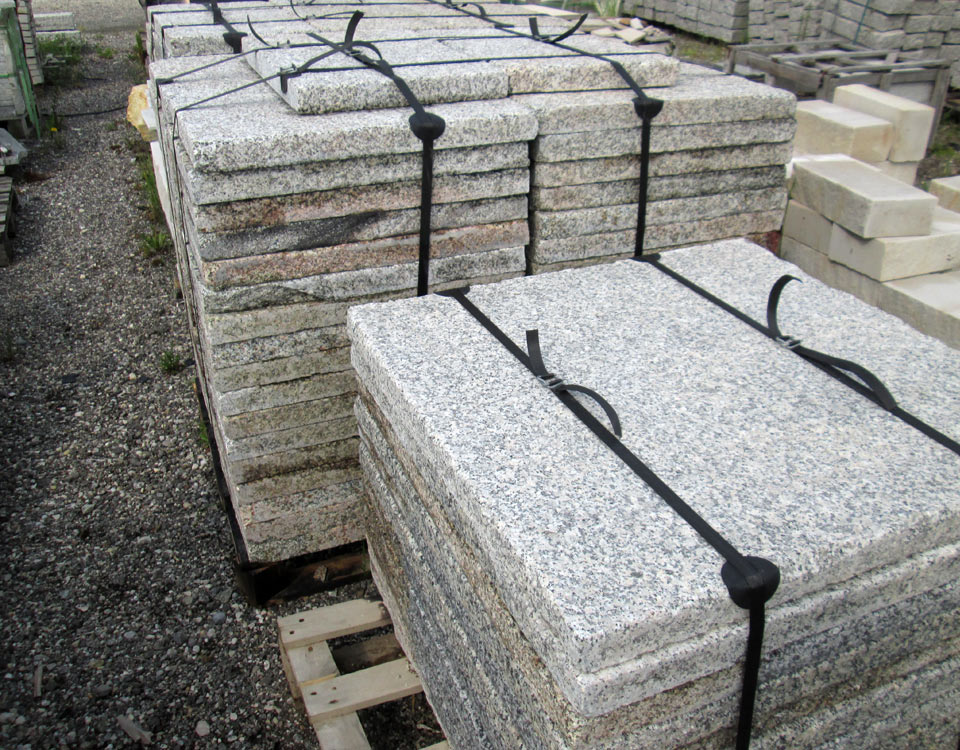 Platten, Granit, antik