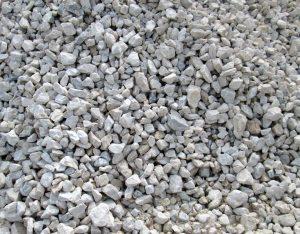 Gabionenfüllung, Marmor, weiß