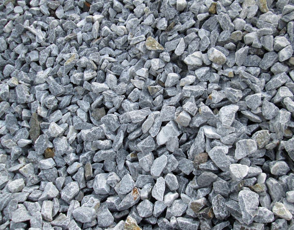 Gabionenfüllung, Gletscher Marmor